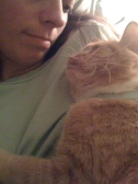 My kitty has been a sweet support during some tough times! I love my kitty!